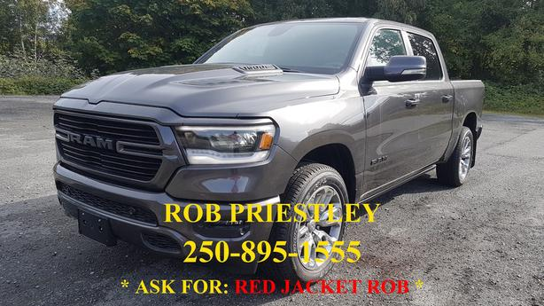 NEW - 2019 RAM 1500 CREW CAB SPORT 4X4 * RED JACKET ROB *