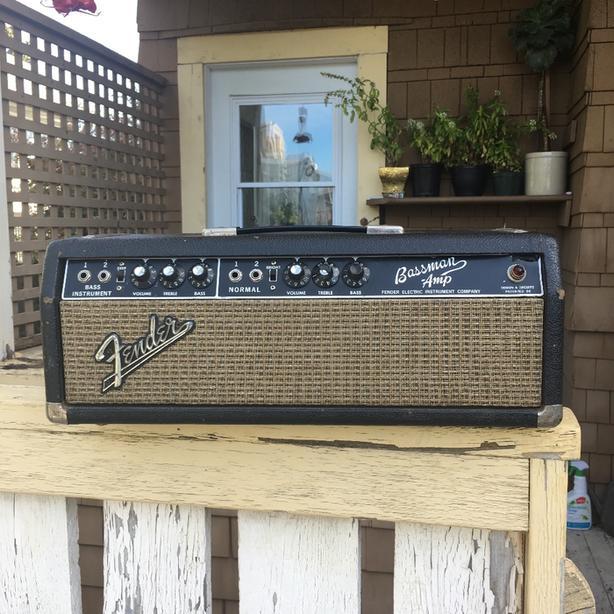 FOR TRADE: 1964 Fender Bassman / Champ