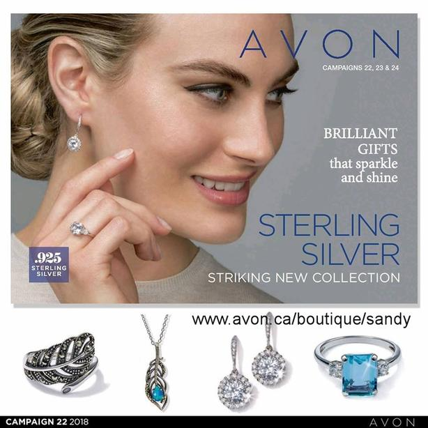 Sterling Silver Jewellry by Avon