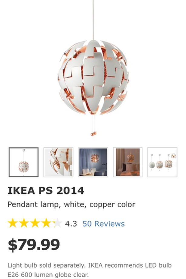 Ikea Pendant Lamp Oak Bay Victoria