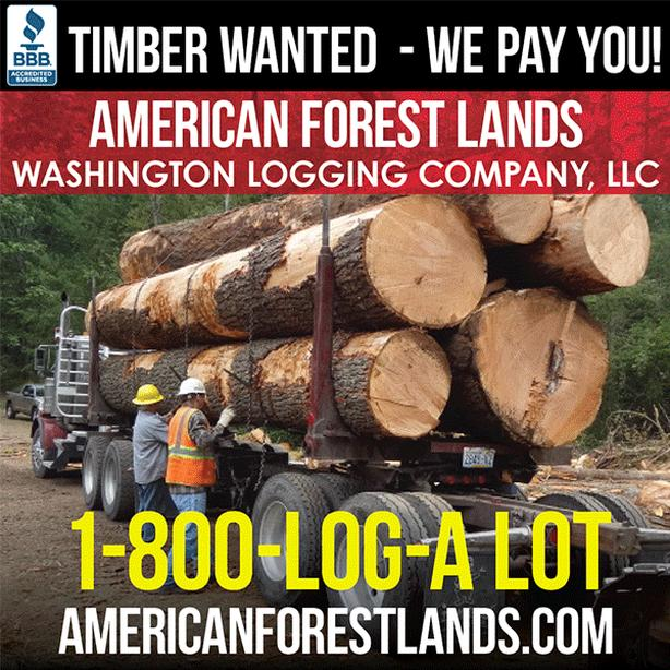 LOG HAULING Self Loader Log Truck, LOGGING TRUCKING Timber Washington