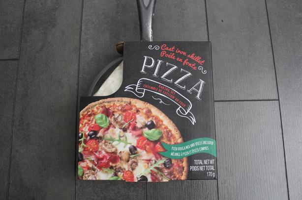  Log In needed $10 · MINI CAST IRON SKILLET w/ pizza making kit