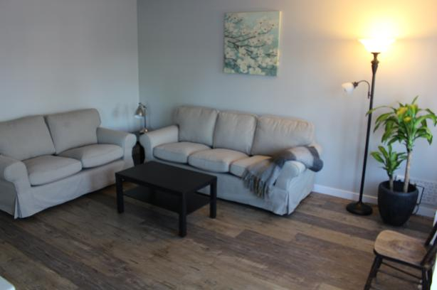 Courtenay 2 bedroom upper floor furnished suite.