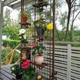 Hand Made Steel Garden Trellis - $250