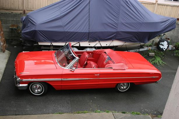 1964 Ford 1964 galaxie 500 XL 390 conv .Canadian car