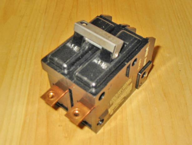 TAYLOR ELECTRIC 40 Amp, 2 Pole, 240 Volt Circuit Breaker ~ Very Rare!