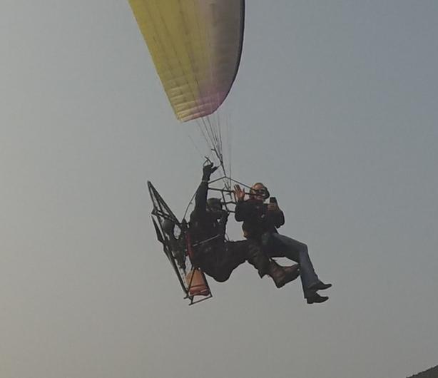Paramotor Tandem flight!
