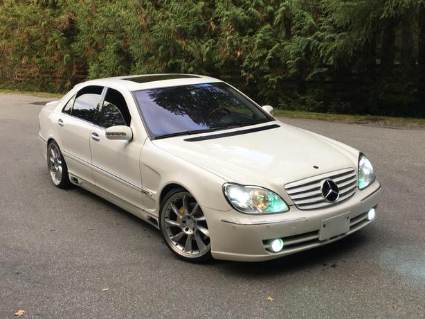 2001 MERCEDES BENZ S500 LWB   95KMs   VIP STYLE