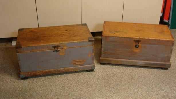 2 Antique Tool Chests