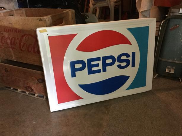 Pepsi Sign (Aluminum)
