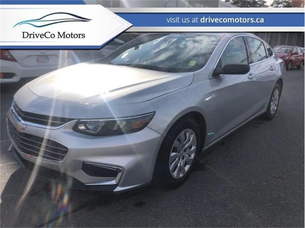 2016 Chevrolet Malibu We ship BC wide. BC # 1 bad credit dealer   - $110.72 B/W