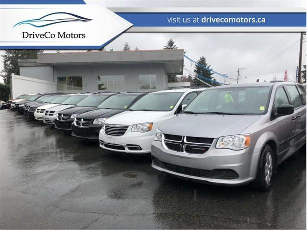 2014 Dodge Grand Caravan CREW  WE FINANCE EVERYBODY AND SHIP BC WIDE