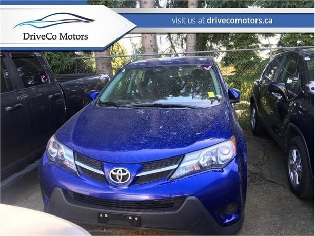 2015 Toyota Rav4 AWD LE - YOUR APPROVED  - Bluetooth - $143.30 B/W