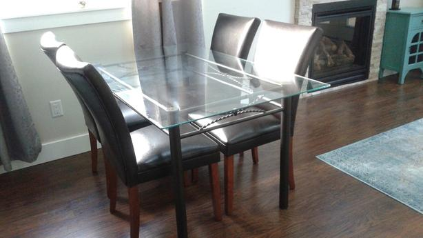 FREE: Table and four chairs