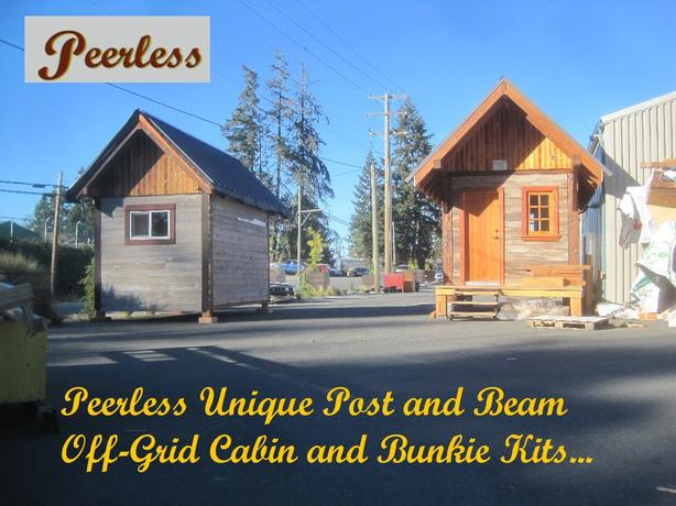 Off-Grid Cabin Kits – Alberni, BC