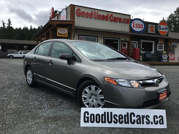 2006 Honda Civic LX - Auto with A/C! On Sale Now!