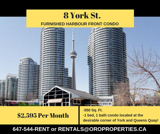 Amazing 1 Bedroom Condo at In The Heart of Harbourfront!