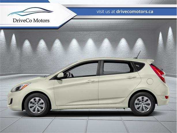 2017 Hyundai Accent SE Hatch  - Sunroof -  Bluetooth - $132.93 B/W
