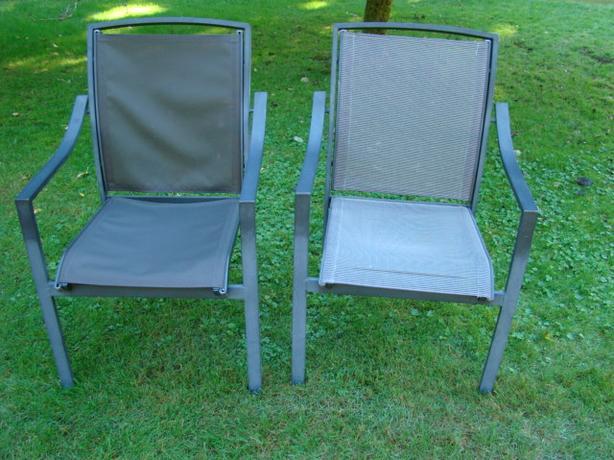Aluminum Frame Patio Chairs $20 each