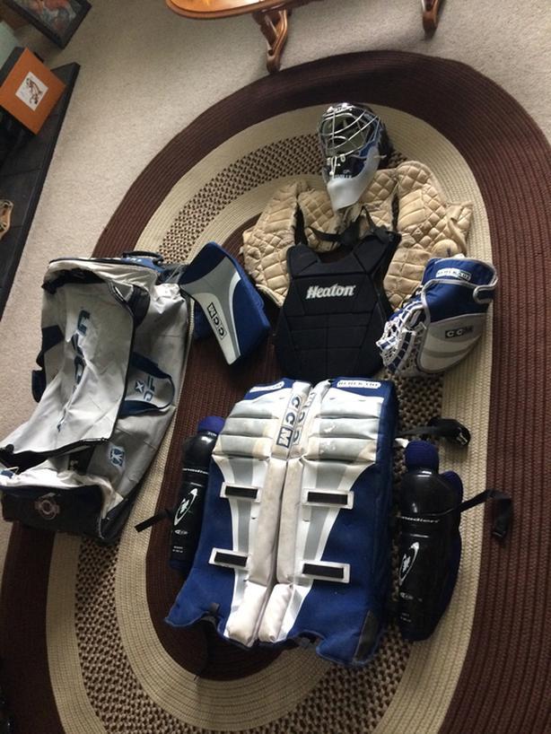  Log In needed $100 · Goalie Floor/Street hockey equipment