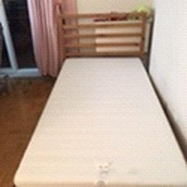 IKEA single bed+ frame+ mattress