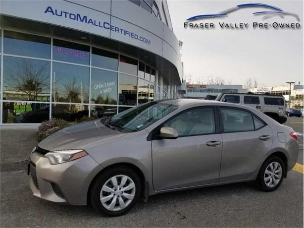 2014 Toyota Corolla LE  -Back Up Cam - Heated Seats - Low Payments!