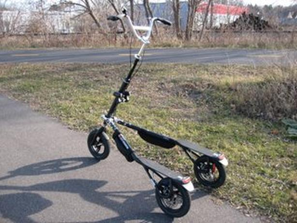 Trikke Body Powered Vehicle