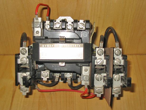 GENERAL ELECTRIC CR306C002AAKA Nema Size 1 Motor Starter (3PH/600V/10HP) ~ New!