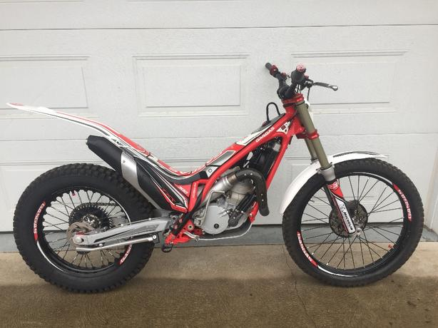 2017 GAS GAS TXT 300 Racing trials motorcycle