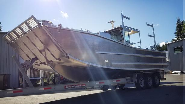 29' Aluminum Landing Craft HULL ONLY