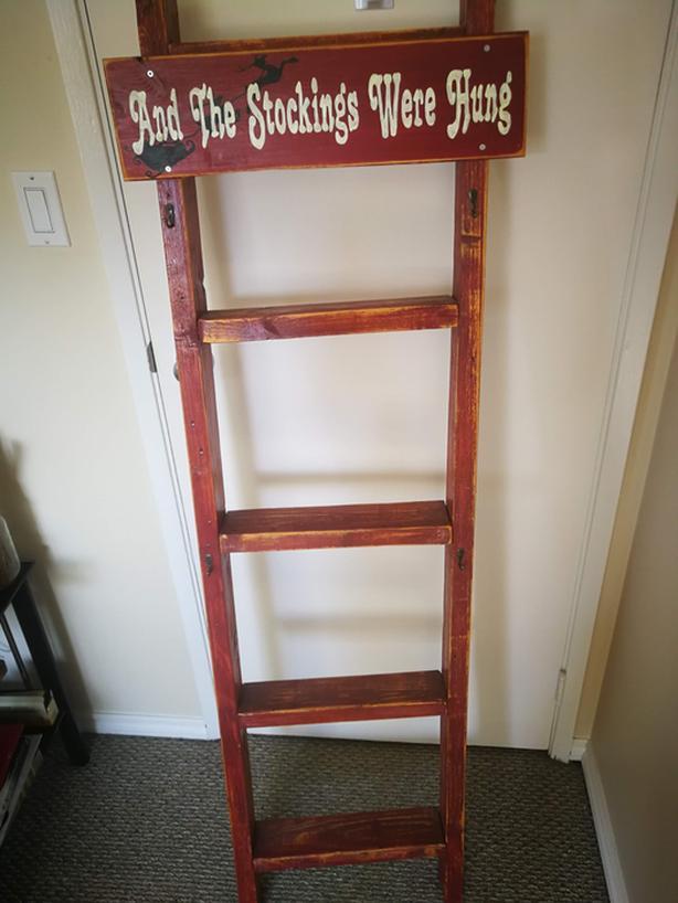 Stocking Ladder