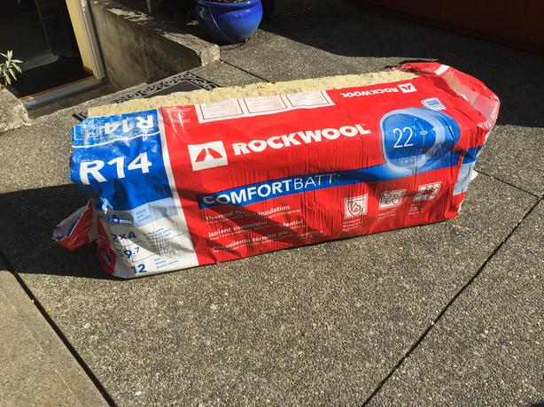 Rockwool insulation - Half bag