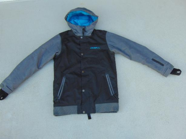 Winter Coat Child Size 12-14 Youth Oneill Snowboarding With Snow Belt