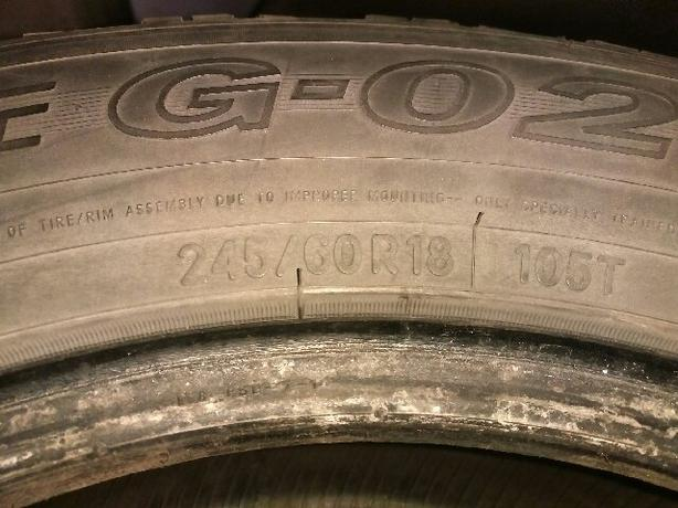 4 Toyo Winter Tires