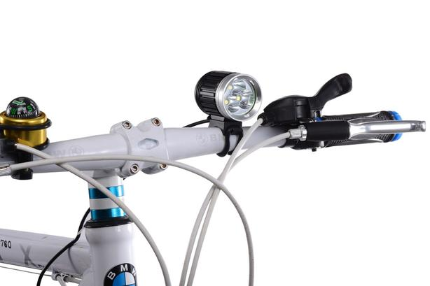 two brand new bright riding lights helmet or bar mount