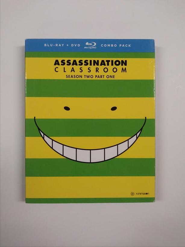 Assassination Classroom: Season 2 Part 1 & Part 2 (Blu-ray + DVD)