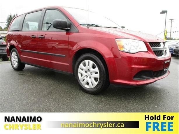 2014 Dodge Grand Caravan CVP Low Kilometers Factory Warranty