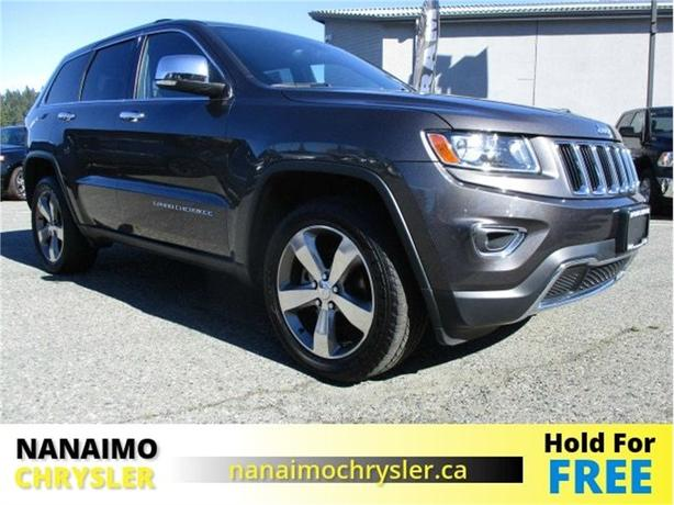 2015 Jeep Grand Cherokee Limited Low Kilometers Navigation