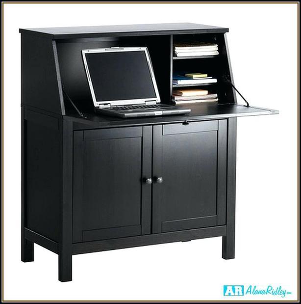 Wanted Ikea Hemnes Secretary Desk Black Brown Central
