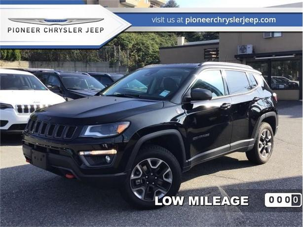 2018 Jeep Compass Trailhawk 4x4  - Sunroof - Navigation -Leather