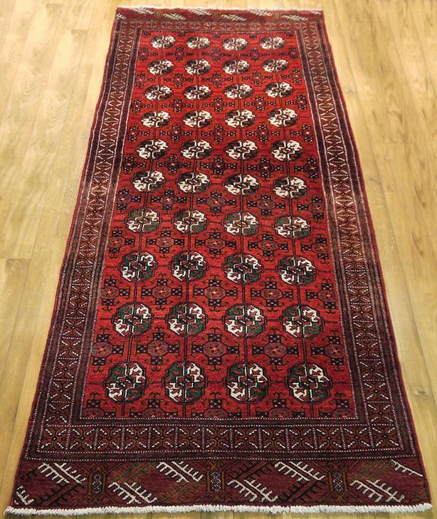 Handmade Persian Area Rug 8x3
