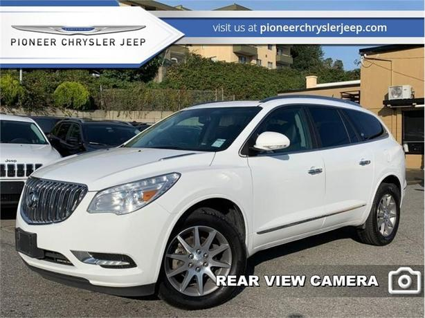 2017 Buick Enclave Leather  -Leather Heated Seats -Sunroof -7 Seater