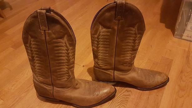 Cowboy Boots - Mens Boulet Size 12