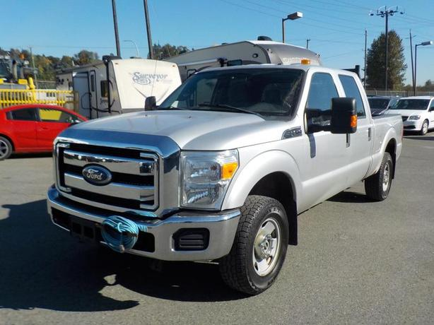 2011 Ford F-250 SD XLT Crew Cab 4WD Short Box