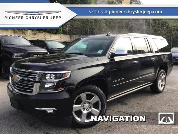 2017 Chevrolet Suburban Premier  -Leather Seats -Nav -DVD -HUD