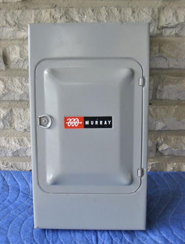 MURRAY-JENSEN 60 Amp, 8 Circuit Fuse Panel (or Sub-Panel) ~ Mint/Rare!