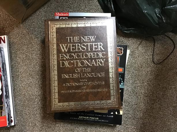 The New Webster Encyclopedic Dictionary