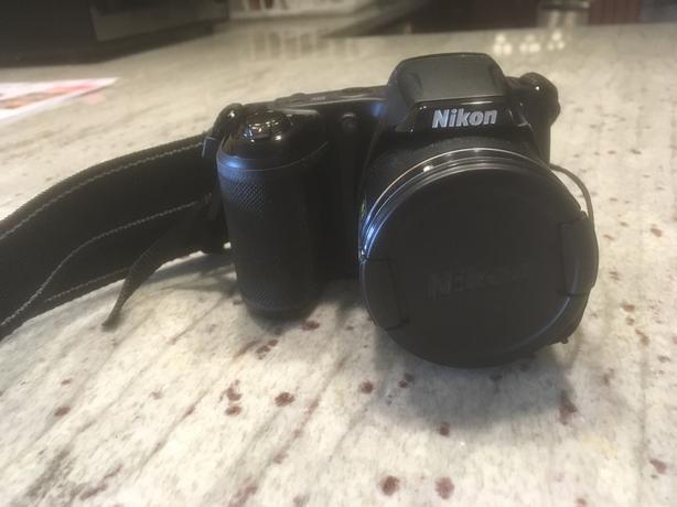 Nikon Coolpix L340 camera - 20.2 Megapixels