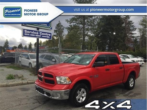2018 Ram 1500 Outdoorsman  - Bluetooth -  SiriusXM - $260.60 B/W