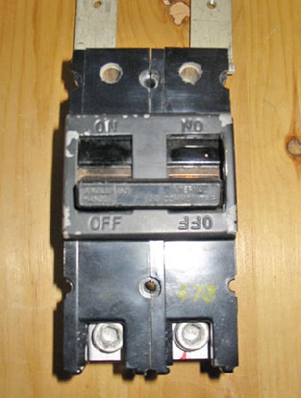 GTE / SYLVANIA 150 Amp, 2 Pole, 240 Vac Circuit Breaker (QFP2150) ~ Very Rare!